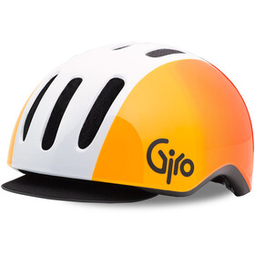 Giro Reverb - Casque de vélo - orange/blanc